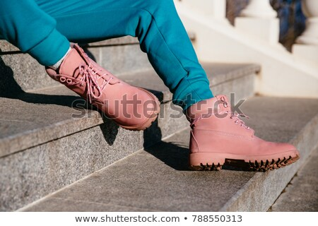 Two boots, laced Stock photo © frescomovie
