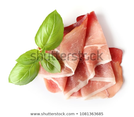 Breakfast with cold cuts Stock photo © grafvision