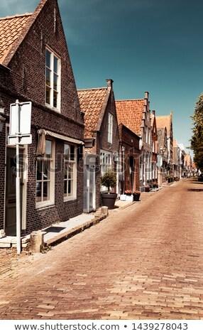 Beautiful little houses of Edam Stock photo © Anna_Om