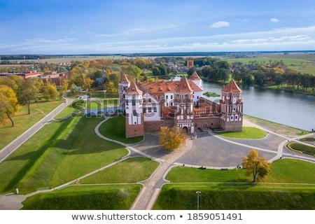 城 複雑な ベラルーシ ユネスコ 世界 遺産 ストックフォト © borisb17