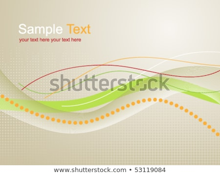 Abstract background with zip line and dots Stock photo © designleo