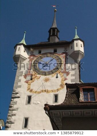 fountain in Aarau, Switzerland stock photo © borisb17