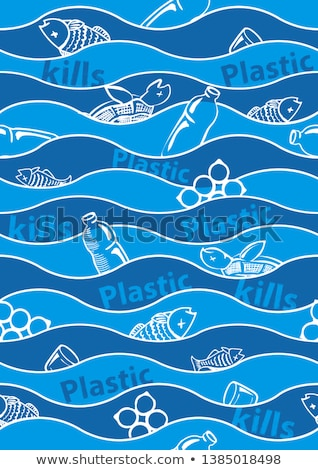 Environmental Problems Vector Seamless Pattern Stock photo © pikepicture