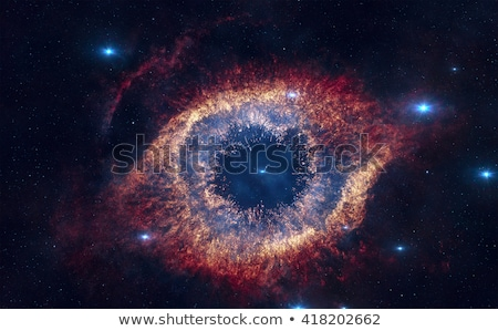Helix Nebula is nebulae located in the constellation Aquarius. Stock photo © NASA_images