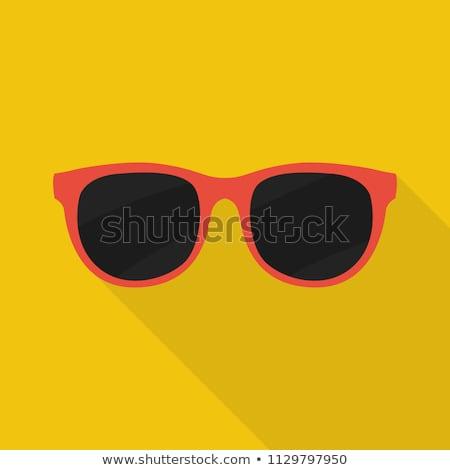 Szemüveg elegáns védelmez szín vektor férfiak Stock fotó © pikepicture
