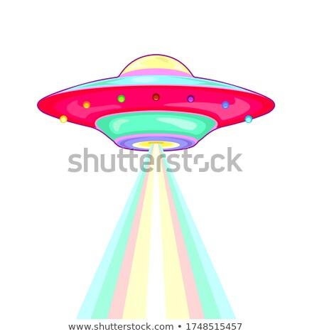Ufo Unidentified Flying Object Color Vector Stock photo © pikepicture