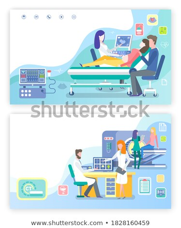 Ultrasound Scan and Computed Tomography Website Stock photo © robuart