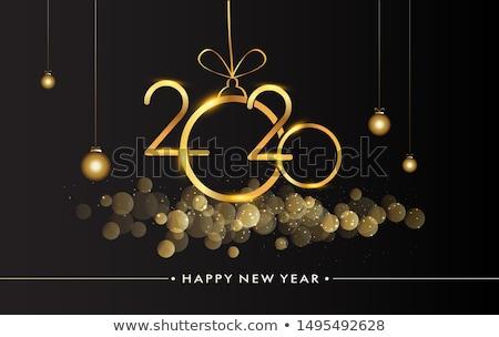 金 黒 パーティ 美しい チラシ ストックフォト © SArts