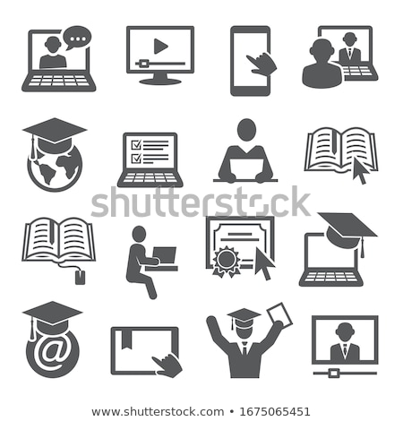 Internet onderwijs technologie vent rap Stockfoto © jossdiim