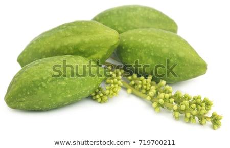 Fresh green medicinal haritaki with extract Stock photo © bdspn