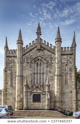 Szent templom Dublin Írország orosz ortodox Stock fotó © borisb17