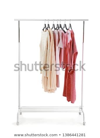 Witte illustratie mode achtergrond kunst Stockfoto © bluering