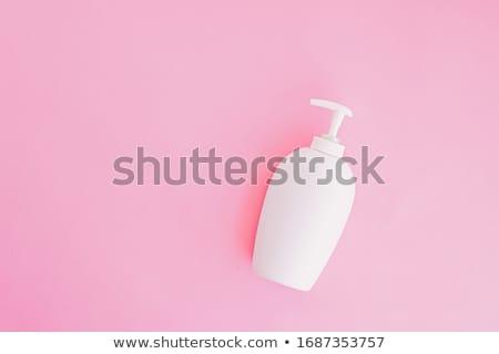 Bouteille antibactérien liquide savon main rose Photo stock © Anneleven