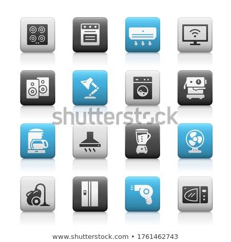 Household Appliances Icons // Matte Series Stock photo © Palsur