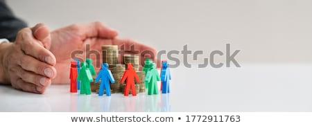 Creative Crowdfund And Philanthropy Money Savings Stock photo © AndreyPopov