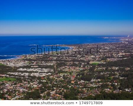 Sydney · Skyline · gratte-ciel · ciel · bleu · affaires · construction - photo stock © mroz