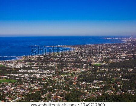 praia · Sydney · Austrália · costa · céu - foto stock © mroz