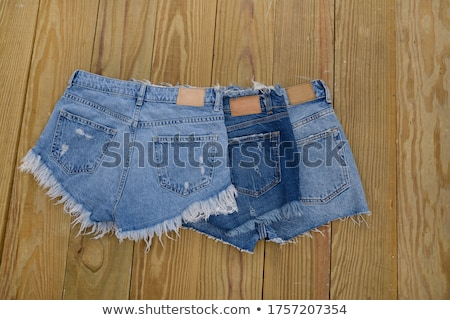 girl in white panties and jeans stock photo © ruslanomega