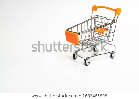 Orange cart Stock photo © cidepix
