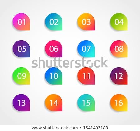 12 · カラフル · ベクトル · シンボル · セット · 13 - ストックフォト © nurrka
