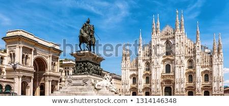 Milan Itália cidade janela compras Foto stock © johnnychaos