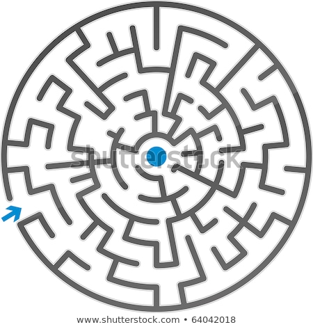 szürke · labirintus · terv · művészet · minta · keresés - stock fotó © vtorous