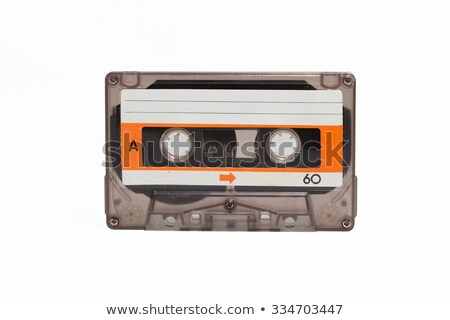 An old blank audio cassette. Stock photo © latent