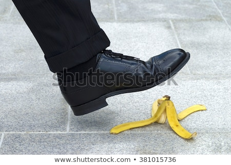 slipping on a banana stock photo © piedmontphoto