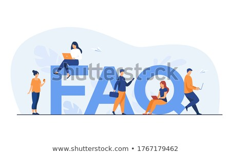 faq concept stock photo © bbbar