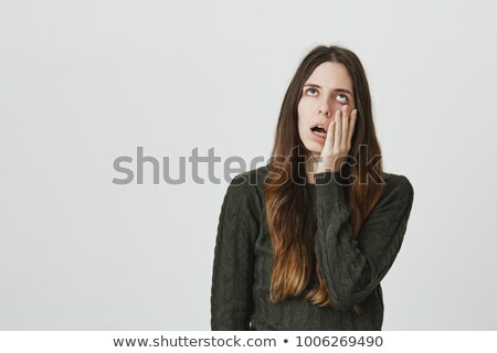 Portrait of a fed-up student Stock photo © photography33