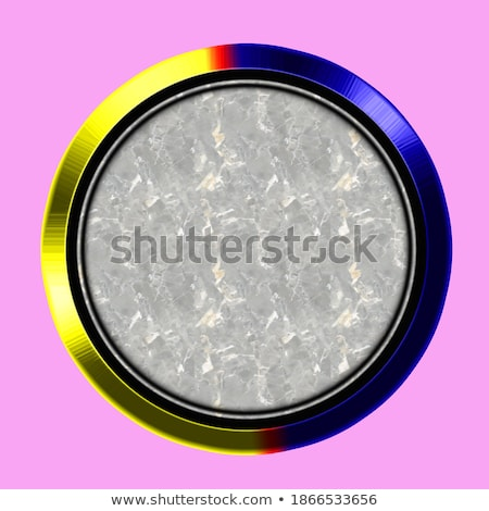 set chrome web buttons blank colors ornamental background stock photo © ecelop