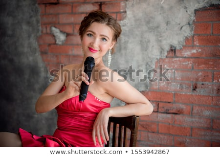Happy woman performing a presentation Stock photo © photography33