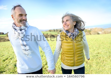 Couple on holiday in countryside Stock photo © photography33