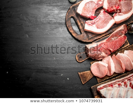 Pork meat Stock photo © stevanovicigor