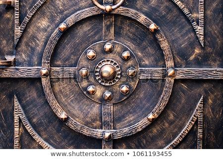 wrought iron lock Stock photo © pedrosala