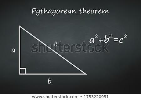 matematikçi · öğrenci · matematik · sorun · kâğıt · okul - stok fotoğraf © stevanovicigor
