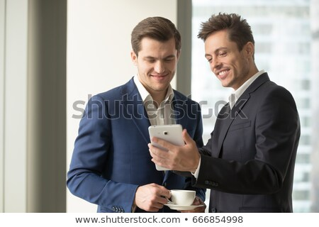 Cell phone with useful features Stock photo © lkeskinen