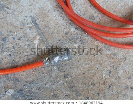 vieux · robinet · plomberie · 80 · pétrolières · industrielle - photo stock © taviphoto