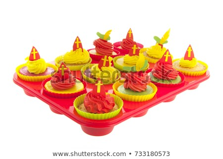 dutch sinterklaas cupcakes stock photo © ivonnewierink