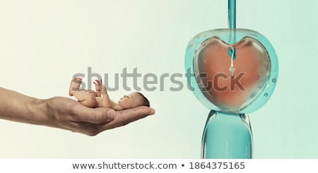 Stock fotó: Sperma · szürke · gradiens · eps · 10 · szeretet