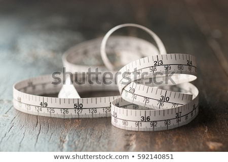 Meetlint tool witte achtergrond binnenshuis Stockfoto © wavebreak_media