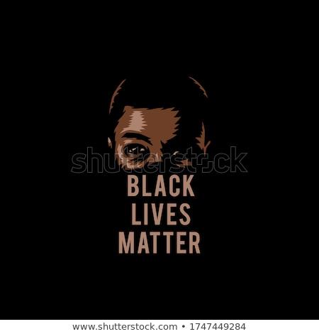 Família preto ícones múltiplo pessoas Foto stock © cteconsulting