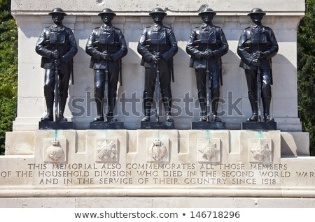 Stock photo: Guards Memorial And Horse Guards Parade