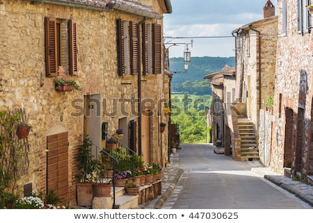 típico · toscana · paisaje · italiano · región · Toscana - foto stock © macsim