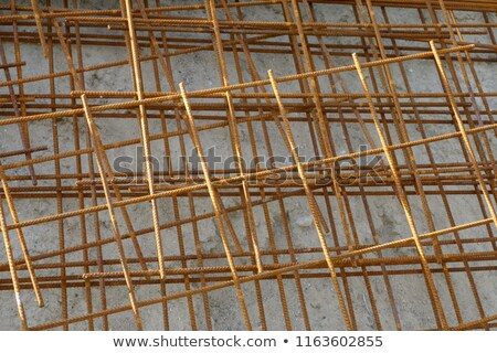Reinforcing steel mesh Stock photo © stevanovicigor