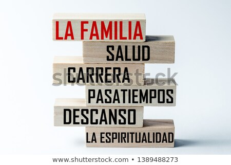 Team Word Sphere (In Spanish) Stock photo © kbuntu