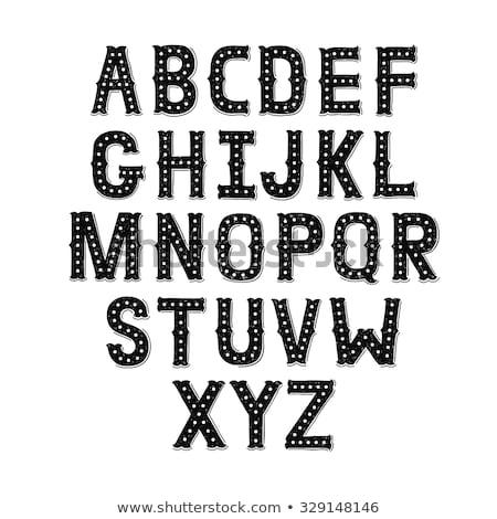 kleur · alfabet · illustratie · achtergrond · kunst - stockfoto © elmiko