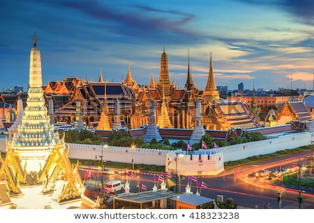 Skyline capital Thailand Bangkok Stock photo © compuinfoto