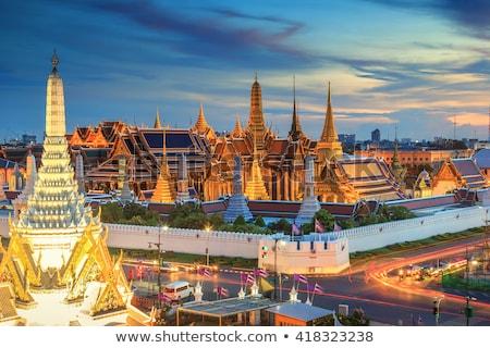 skyline capital thailand bangkok stock photo © compuinfoto
