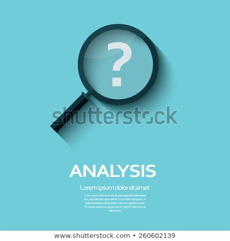 question marks   magnifying glass stock photo © iqoncept